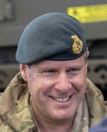 Major General Tom Copinger-Symes CBE